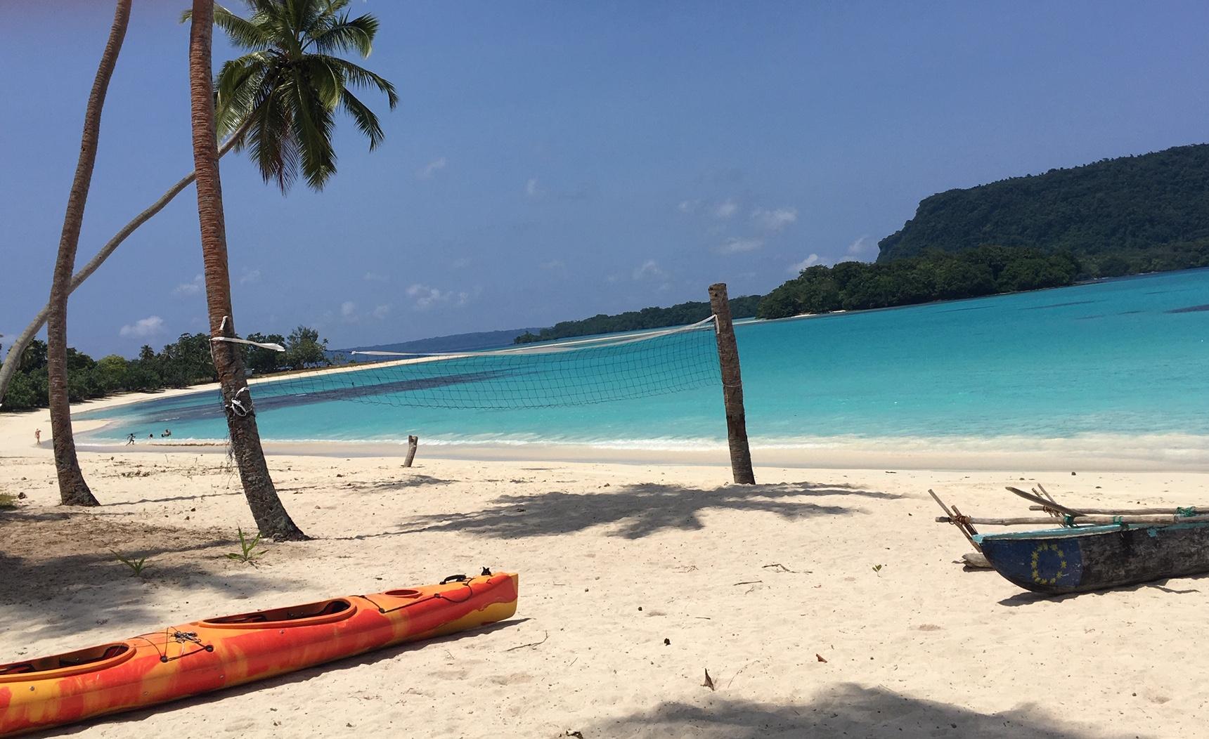 Top private beaches Espiritu Santo Vanuatu