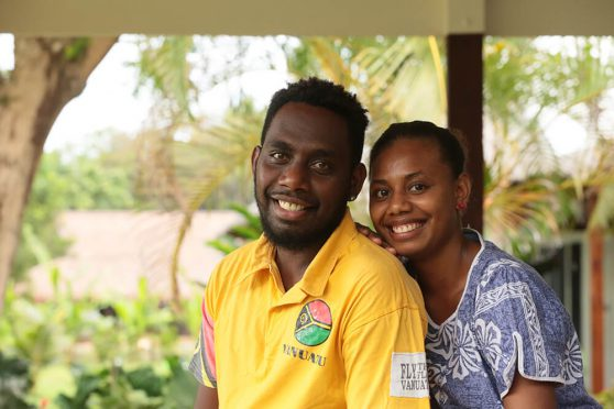 Our hosts will make you feel welcome Espiritu Santo Vanuatu