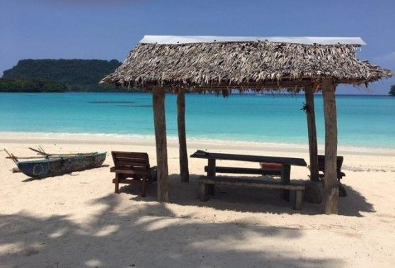 Enjoy a drink and unwind at Santo's finest place to stay Vanuatu